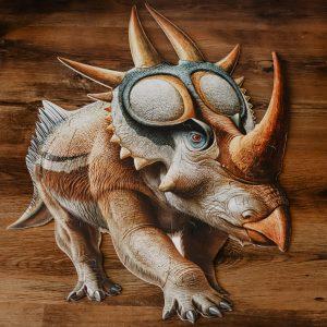 rubeosaurus floor puzzle