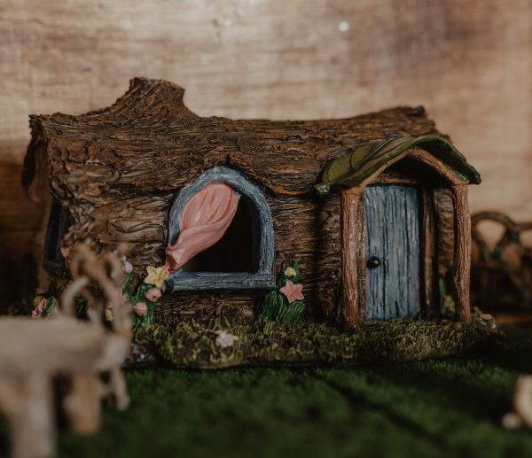 fallen log fae house